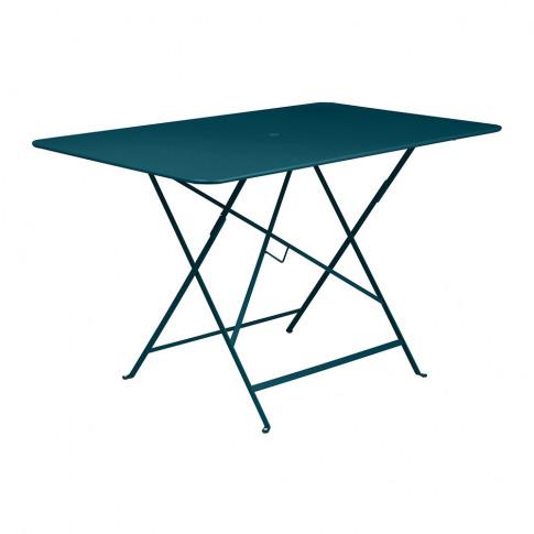 Fermob - Bistro Garden Table - 117x77cm - Acapulco Blue