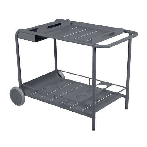 Fermob - Luxembourg Drinks Trolley - Anthracite
