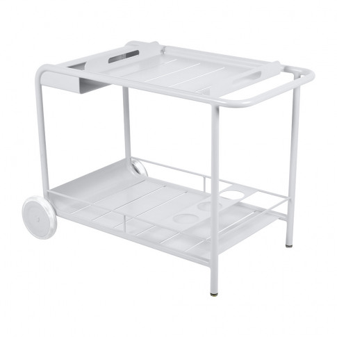 Fermob - Luxembourg Drinks Trolley - Cotton White