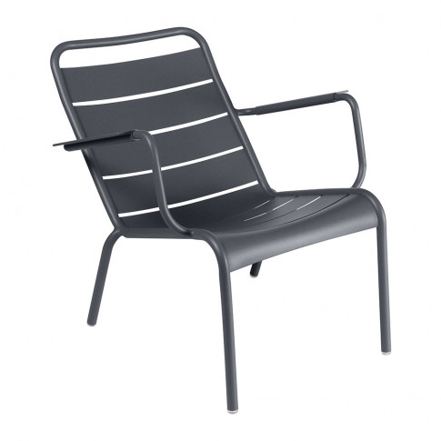 Fermob - Luxembourg Low Armchair - Anthracite