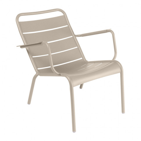 Fermob - Luxembourg Low Armchair - Nutmeg
