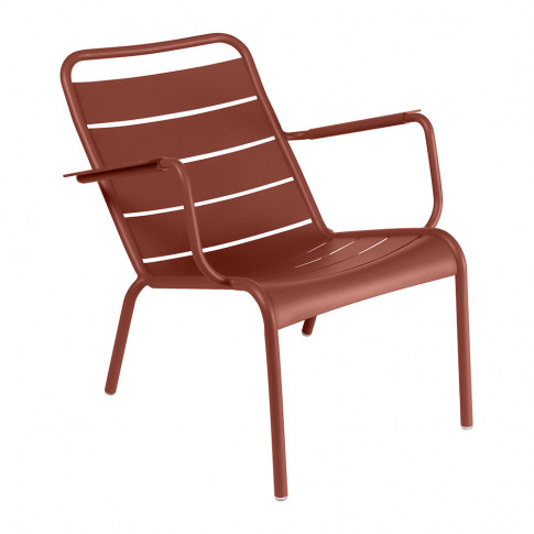 Fermob - Luxembourg Low Armchair - Red Ochre