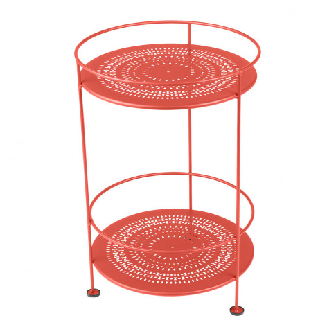 Fermob - Guinguette Side Table - Poppy