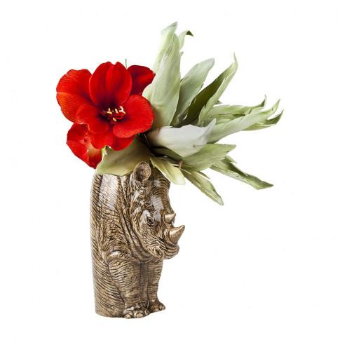 Quail Ceramics - Rhino Flower Vase