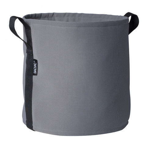 Bacsac - Batyline Plant Pot - Grey Pave - 25l