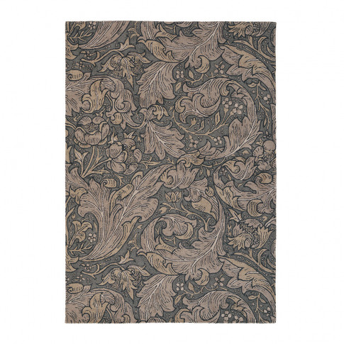 Morris & Co - Bachelors Button Rug - Charcoal - 140x...
