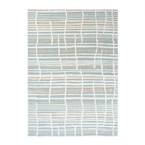 Florence Broadhurst - Tortoiseshell Stripe Rug - Jad...