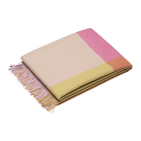 Vitra - Colour Block Blanket - Pink/Beige