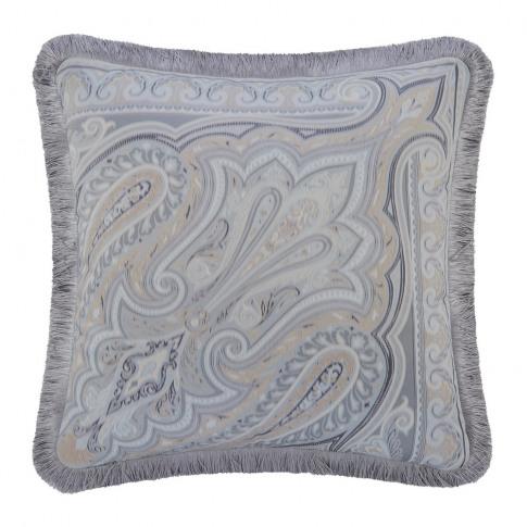 Etro - Hokkaido Oki Cushion With Trims - 45x45cm - G...