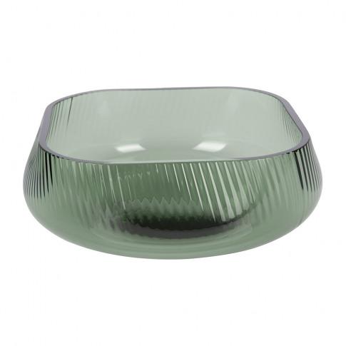 Nude - Opti Wide Vase - Green - Short