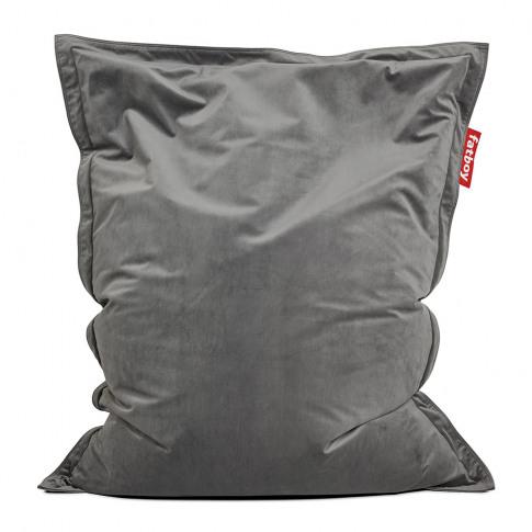 Fatboy - The Original Slim Velvet Bean Bag - Taupe