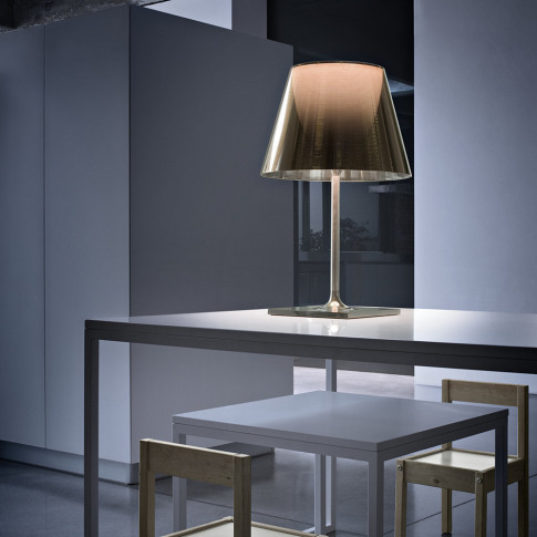 Flos - KTribe T Table Lamp with Dimmer - Polished Br...