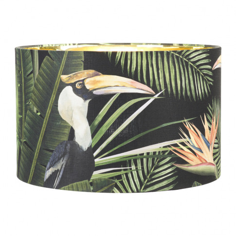 Mindthegap - Birds Of Paradise Drum Lamp Shade - Small