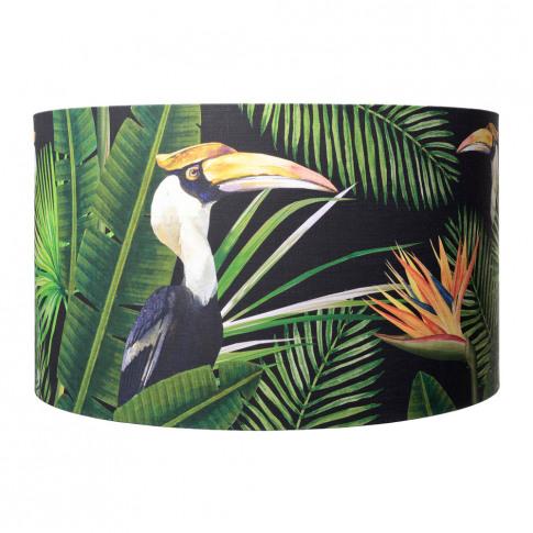 Mindthegap - Birds Of Paradise Drum Lamp Shade - Large