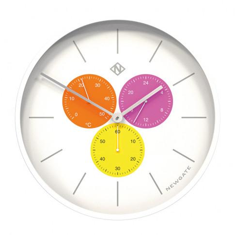 Newgate Clocks - Triptick Clock - Butterfly Wing