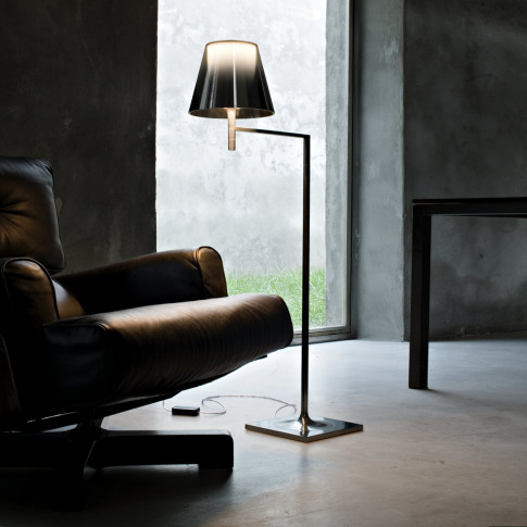 Flos - KTribe F Floor Lamp with Dimmer - Aliminized ...