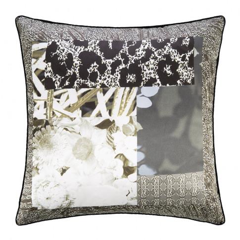 Roberto Cavalli - Faraqa Silk Cushion - 40x40cm - Sand