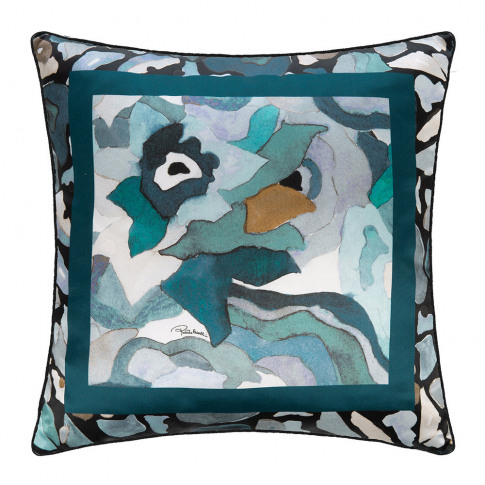 Roberto Cavalli - Caleidoflora Silk Cushion - 40x40c...
