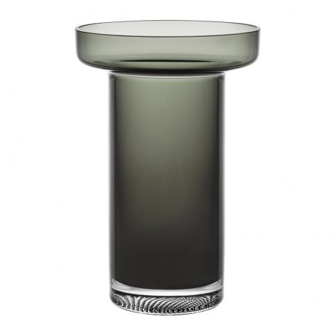 Orrefors Kosta Boda - Limelight Rose Vase - Grey