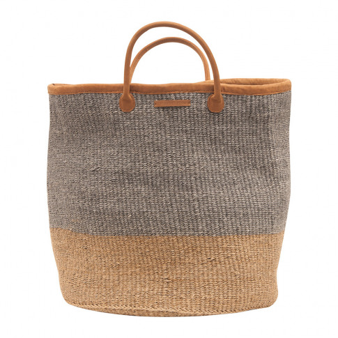 The Basket Room - Pili Hand Woven Laundry Basket - C...