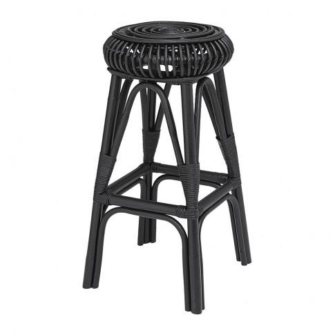 Bloomingville - Haze Rattan Bar Stool - Black