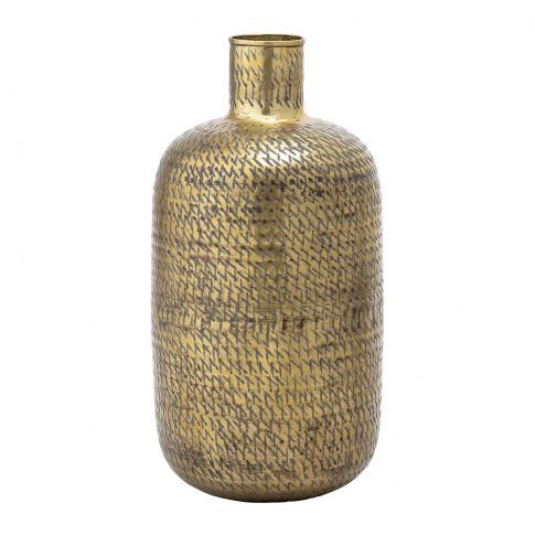 Bloomingville - Cross Detailed Vase - Brass