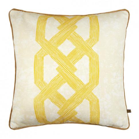 Eva Sonaike - Aluro Cushion - 50x50cm - Yellow