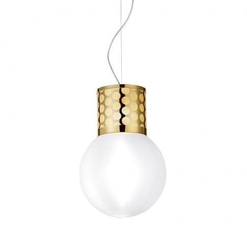 Slamp - Atmosfera Suspension Ceiling Light - Gold