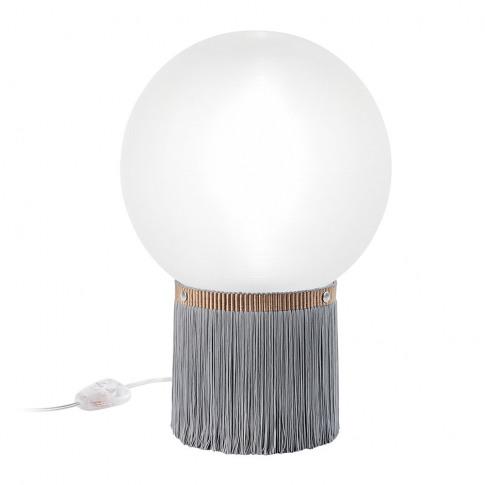 Slamp - Atmosfera Fringe Table Lamp - Grey
