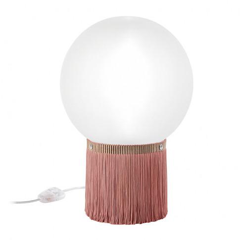 Slamp - Atmosfera Fringe Table Lamp - Rose