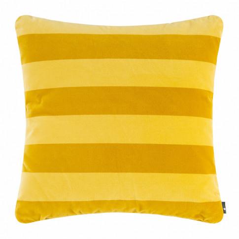 Hay - Soft Stripe Cushion - Yellow
