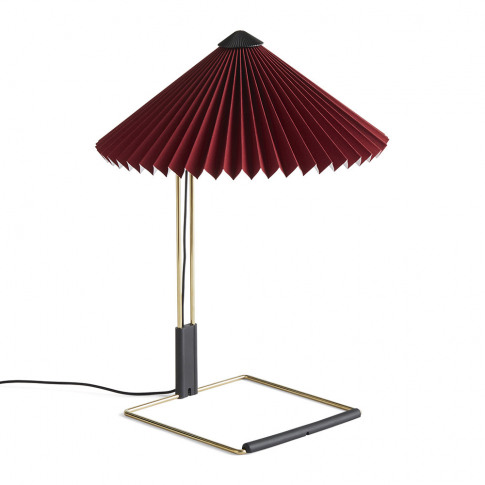Hay - Matin Table Lamp - Oxide Red - S