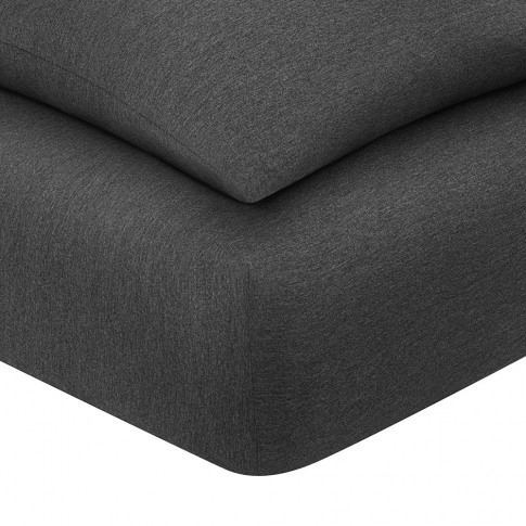 Calvin Klein - Harrison Fitted Sheet - Charcoal - Su...