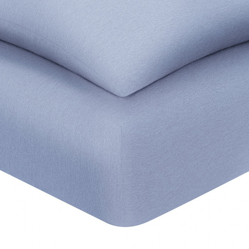 Calvin Klein - Harrison Fitted Sheet - Solid Periwin...