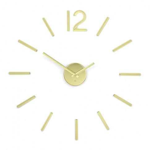 Umbra - Blink Metal Wall Clock - Brass