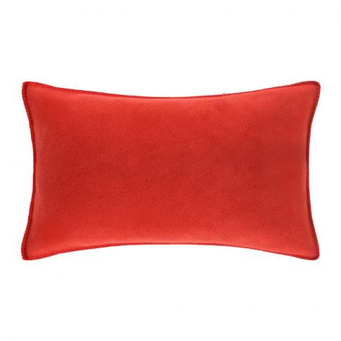 Zoeppritz Since 1828 - Soft Fleece Cushion - 30x50cm - Rust
