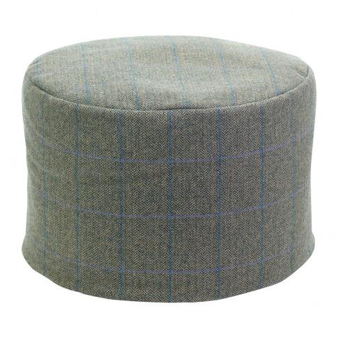 Tweedmill - Tweed Pouf - 45x30cm - Denim