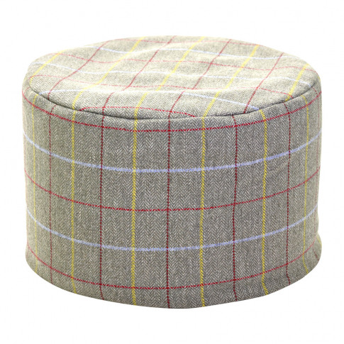 Tweedmill - Tweed Pouf - 45x30cm - Sage