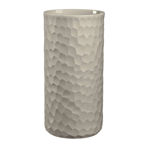Asa Selection - Carve Vase - Cement - 24cm