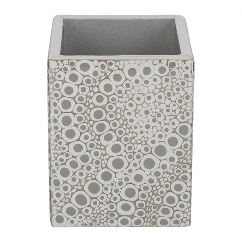 Mike + Ally - Proseco Toothbrush Holder - Gravel/Silver
