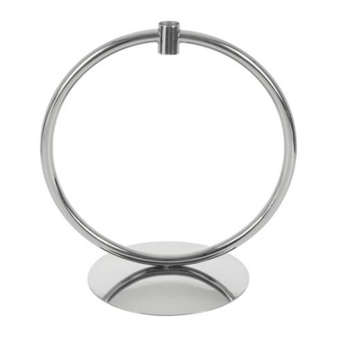 A By Amara - Hoop Candlestick - Silver