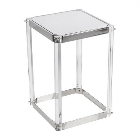 A By Amara - Mirror Top Side Table