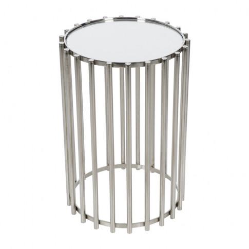 A By Amara - Steel Mirror Table