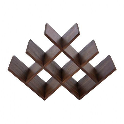A By Amara - Wooden Wine Rack