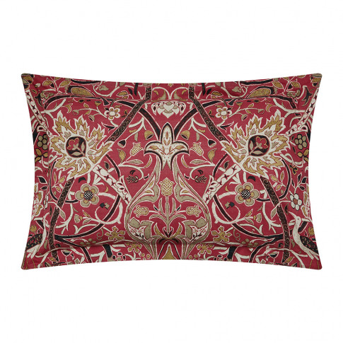 Morris & Co - Bullerswood Oxford Pillowcase - Paprika