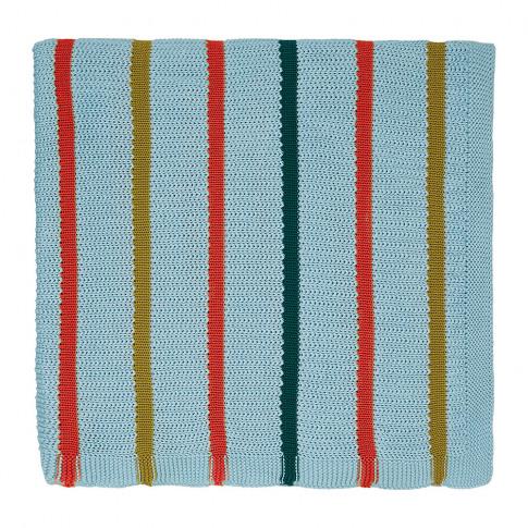 Scion - Lintu Knitted Throw - Marina