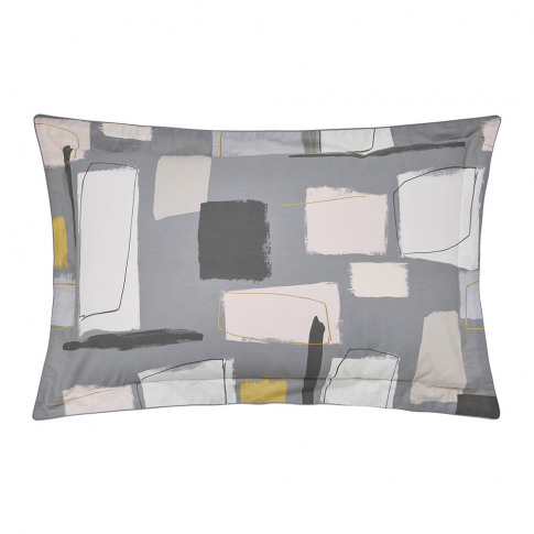 Scion - Composition Oxford Pillowcase - Putty