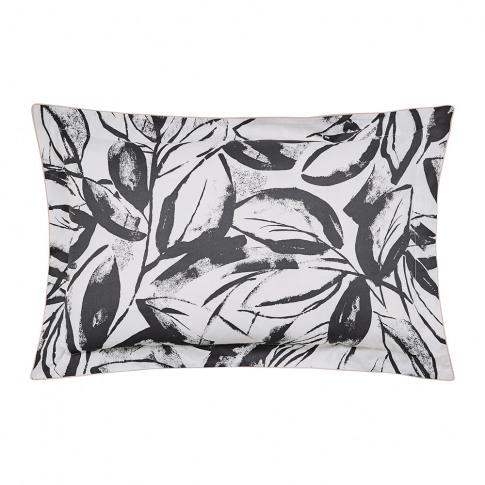 Scion - Padua Oxford Pillowcase - Charcoal