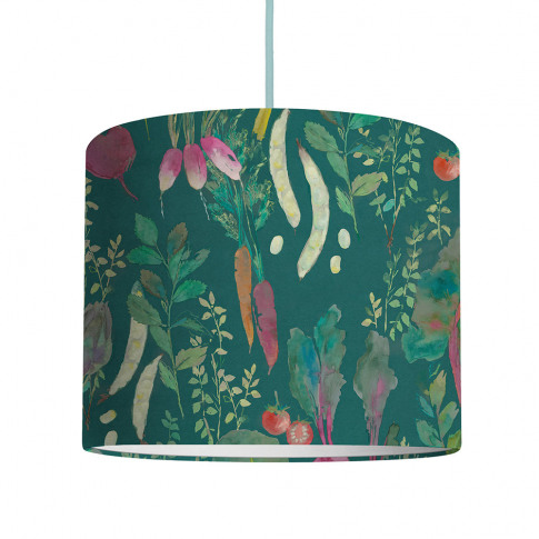 Bluebellgray - Vegetable Patch Ceiling Lampshade - Chard - Medium