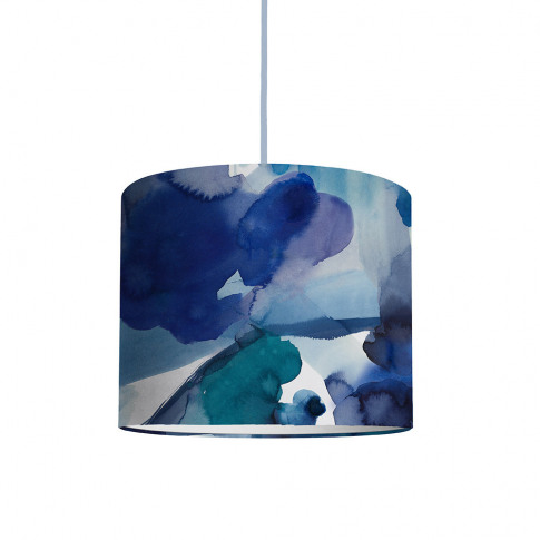 Bluebellgray - Blue Skies Ceiling Lamp Shade - Medium
